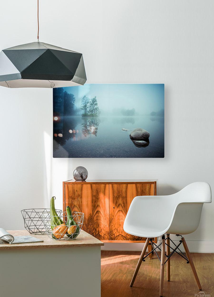 Laguna Morning  HD Metal print with Floating Frame on Back