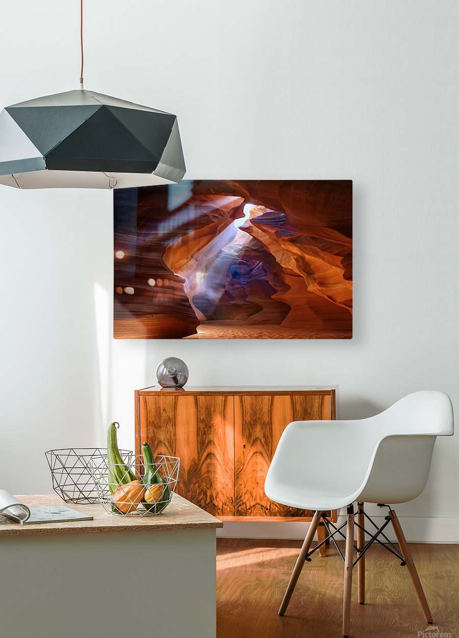 Pure Photodelight  2  HD Metal print with Floating Frame on Back