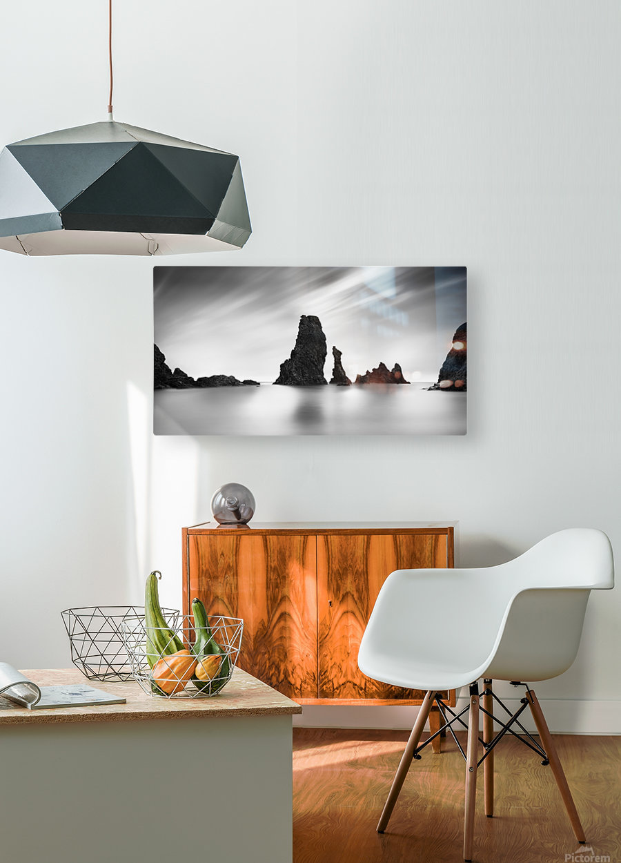 Elsewhere  HD Metal print with Floating Frame on Back