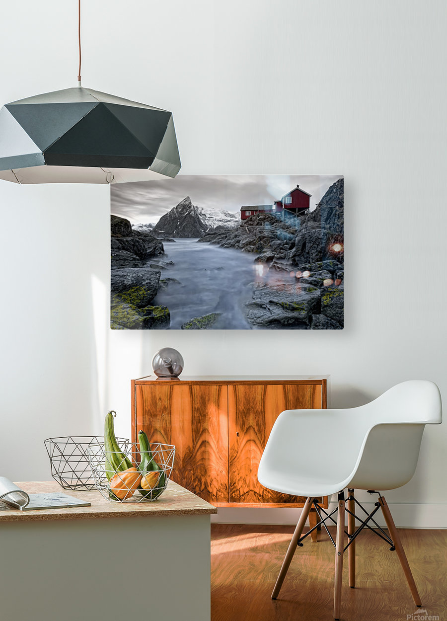Living Norway  HD Metal print with Floating Frame on Back