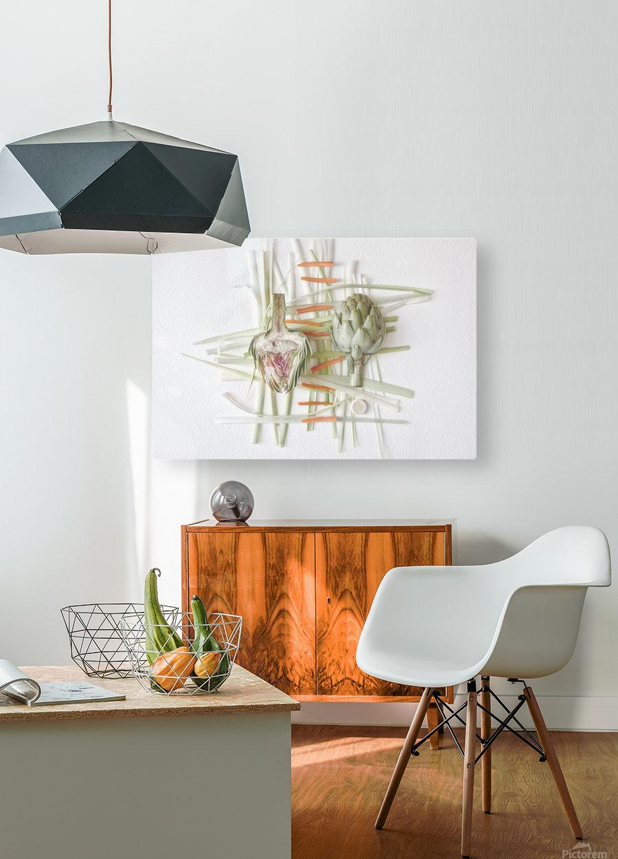 ART.ichoke - 2  HD Metal print with Floating Frame on Back