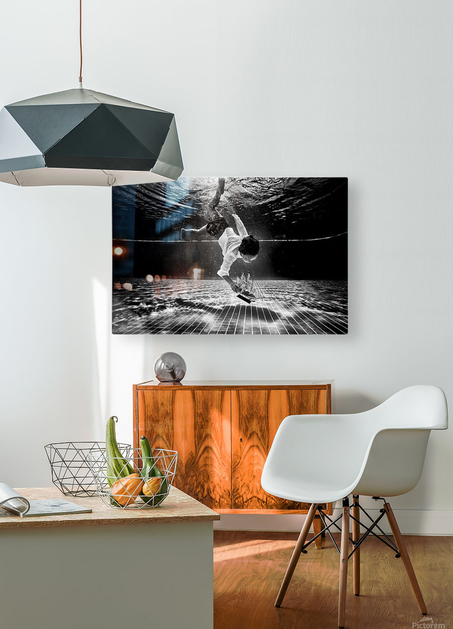 Mercan  HD Metal print with Floating Frame on Back