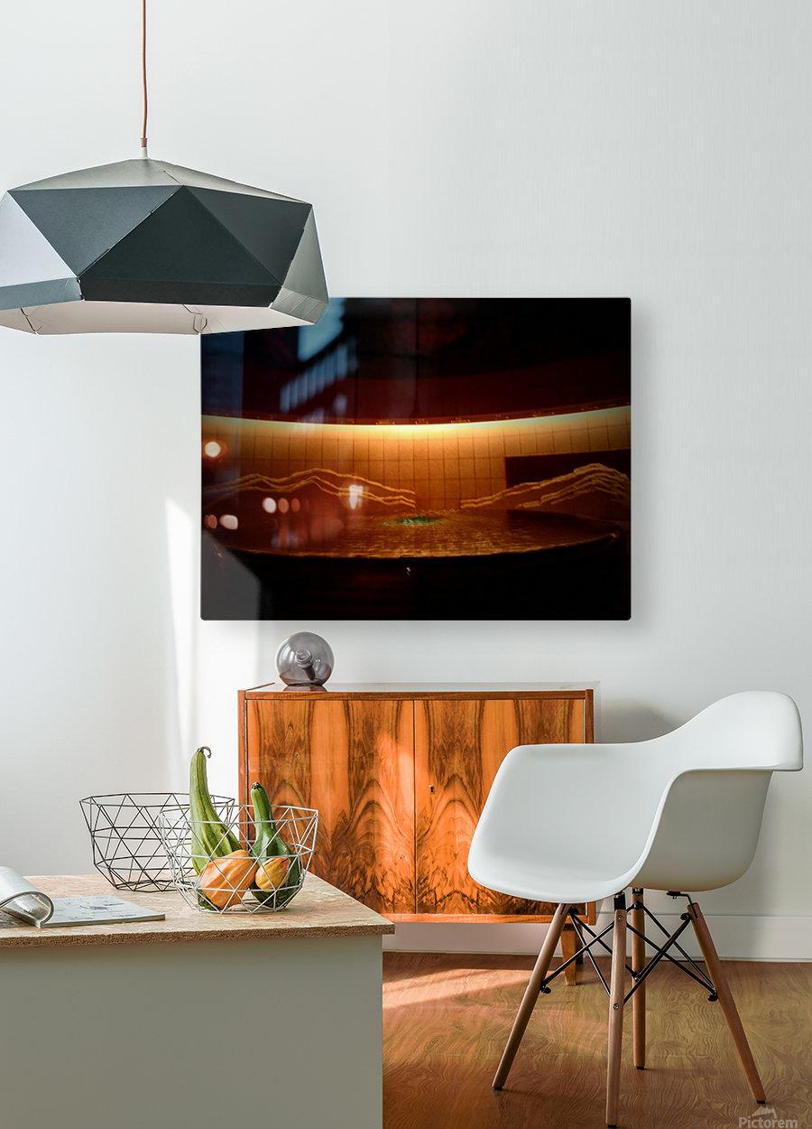 Adams Ale  HD Metal print with Floating Frame on Back