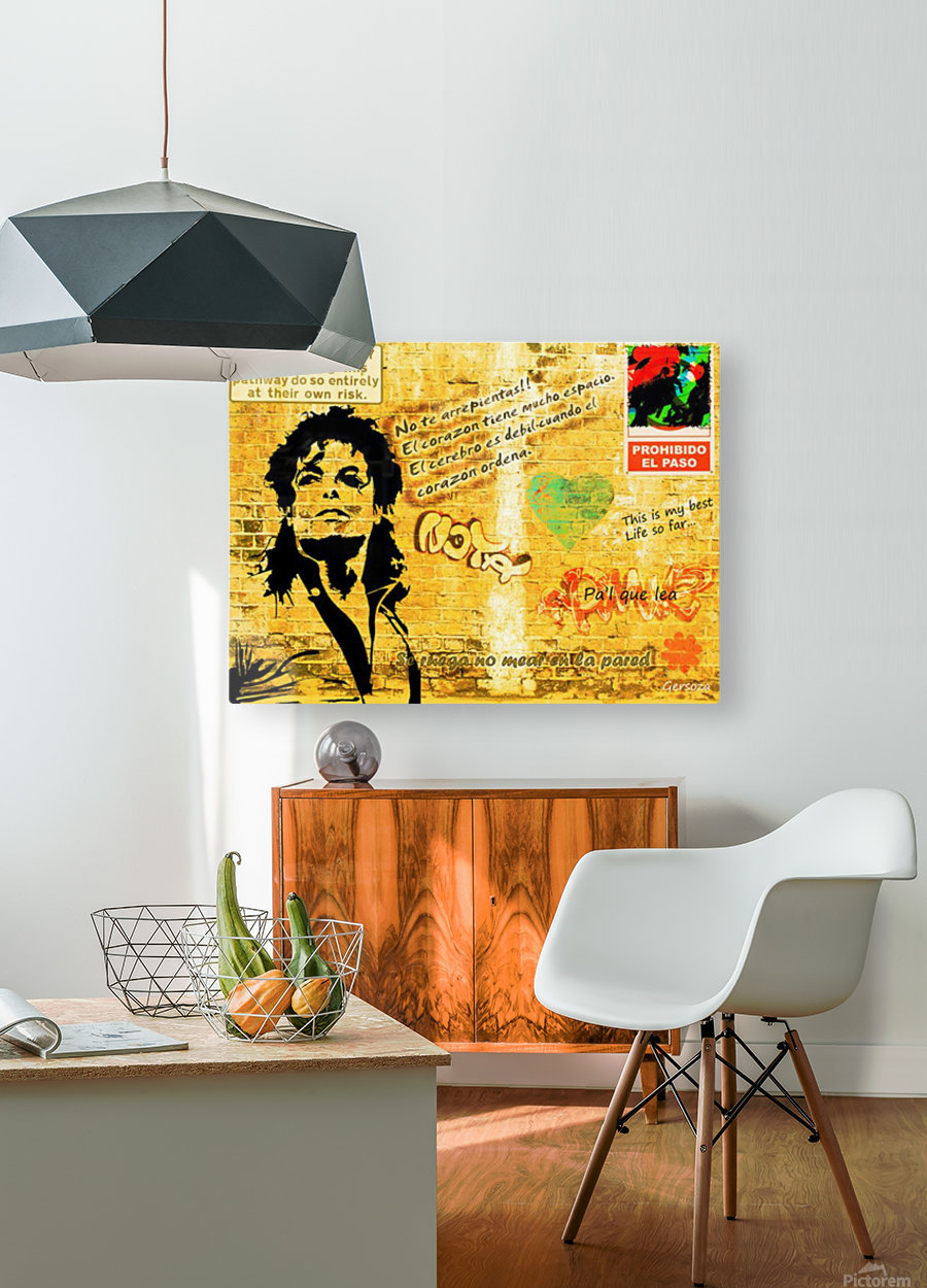 Art65  HD Metal print with Floating Frame on Back