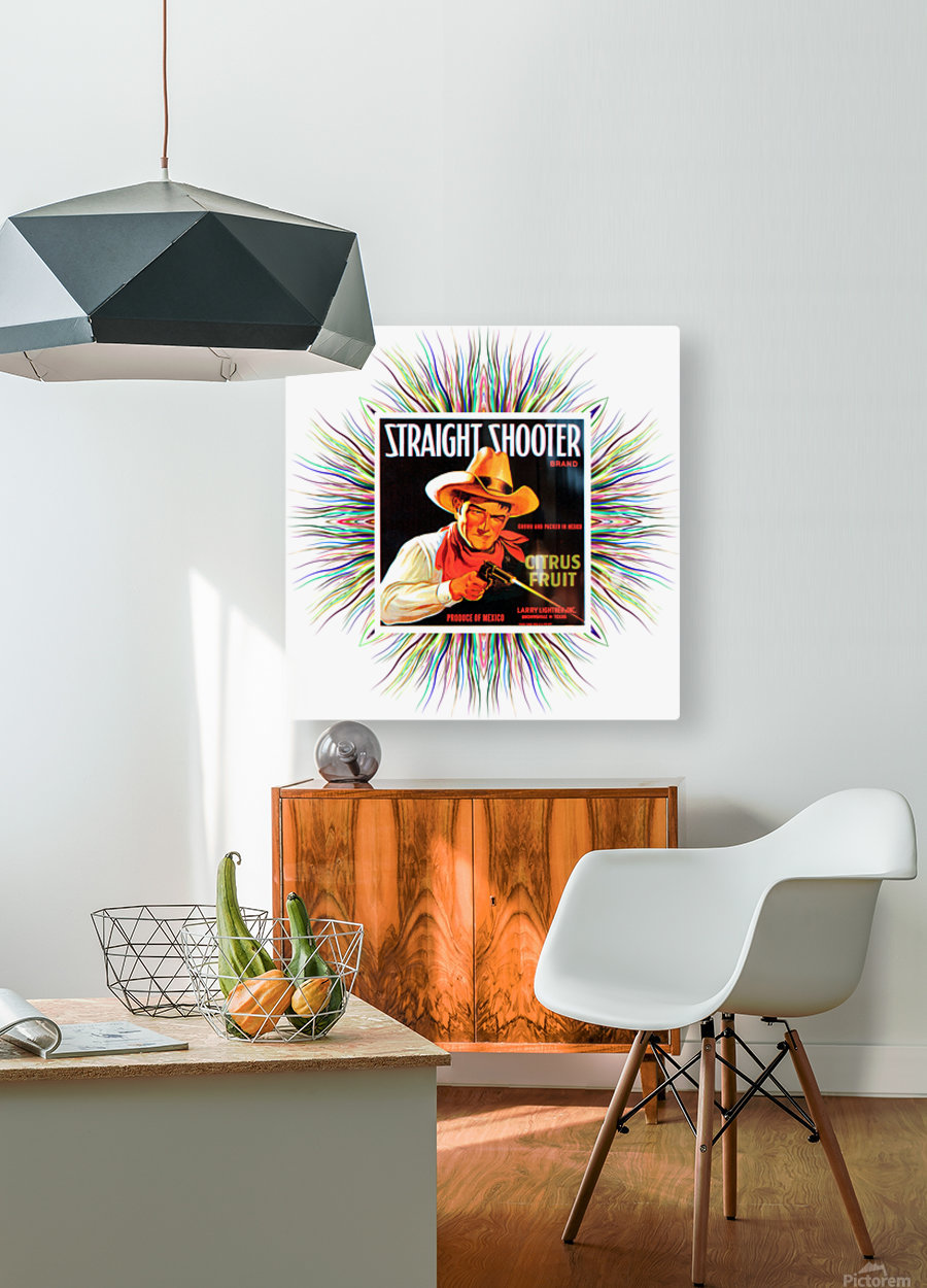 Art76  HD Metal print with Floating Frame on Back