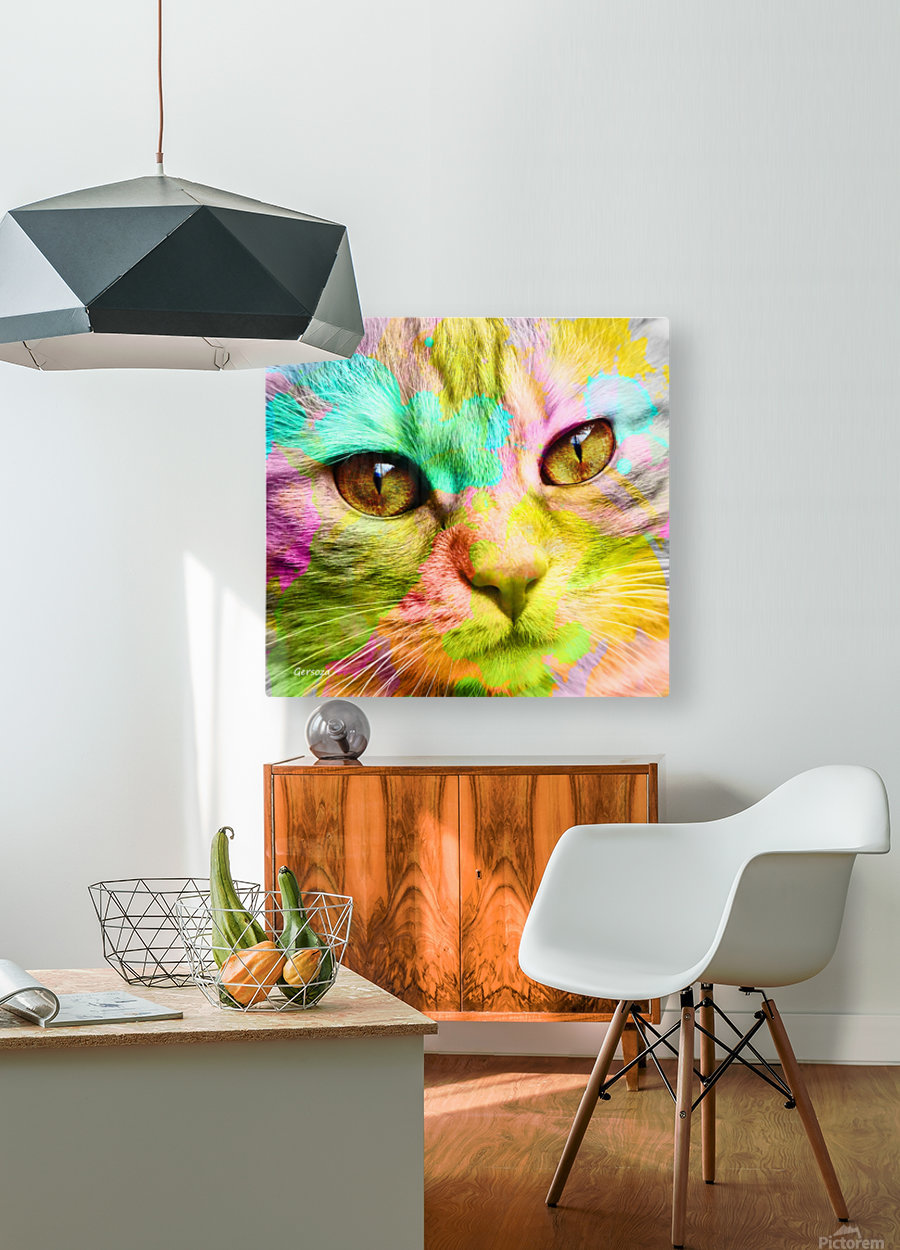 Art220  HD Metal print with Floating Frame on Back