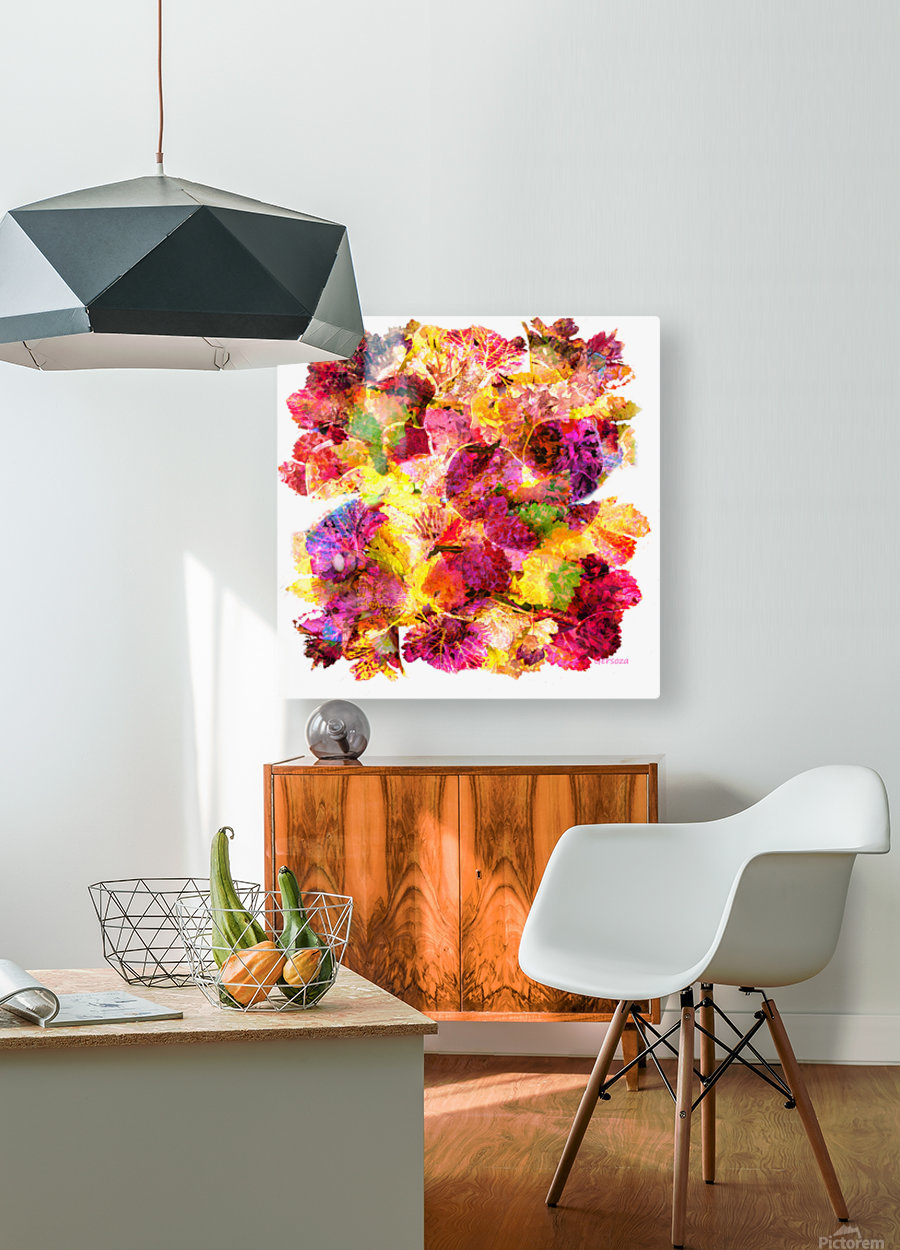 Art222  HD Metal print with Floating Frame on Back