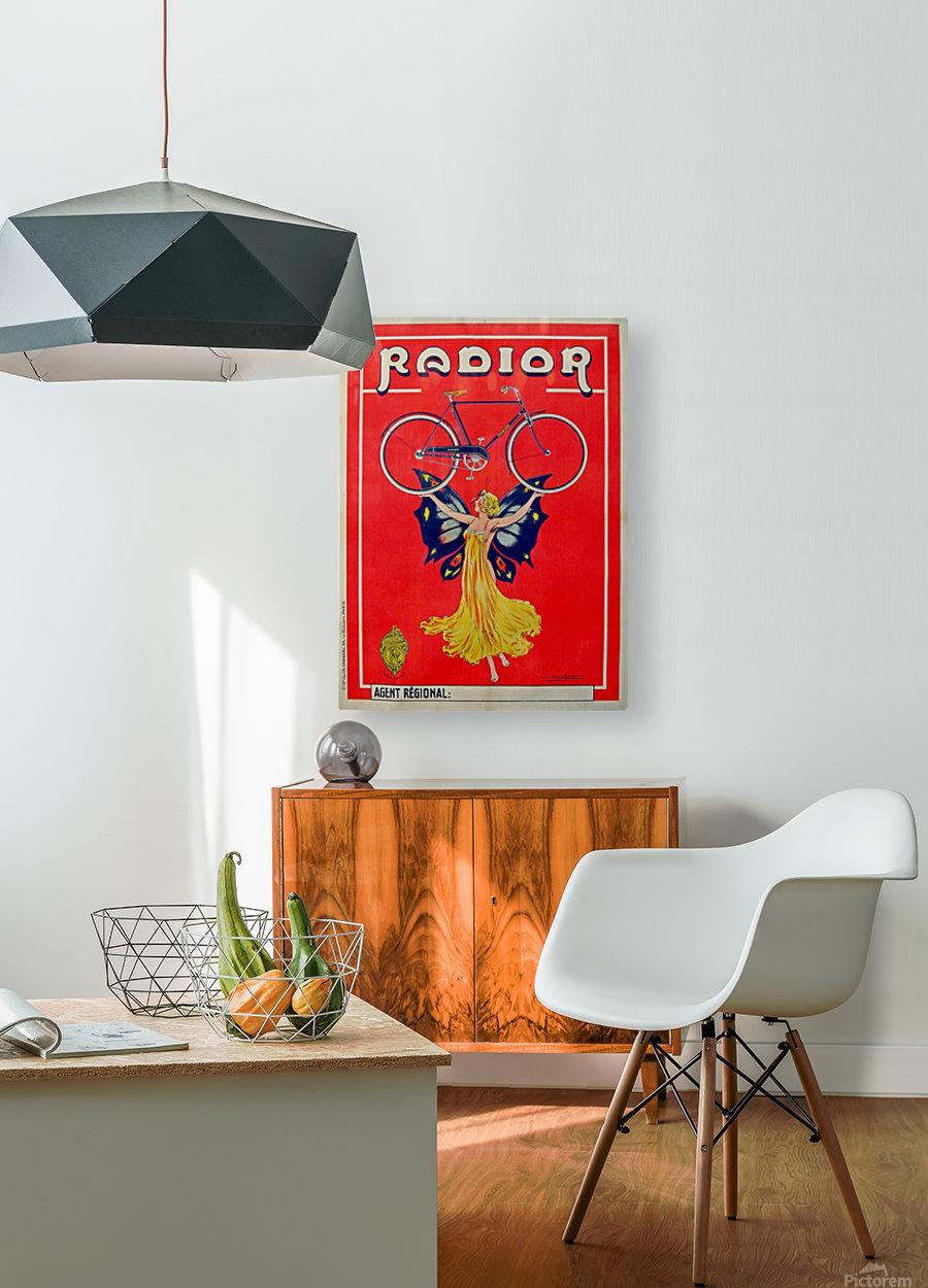 Radior  HD Metal print with Floating Frame on Back