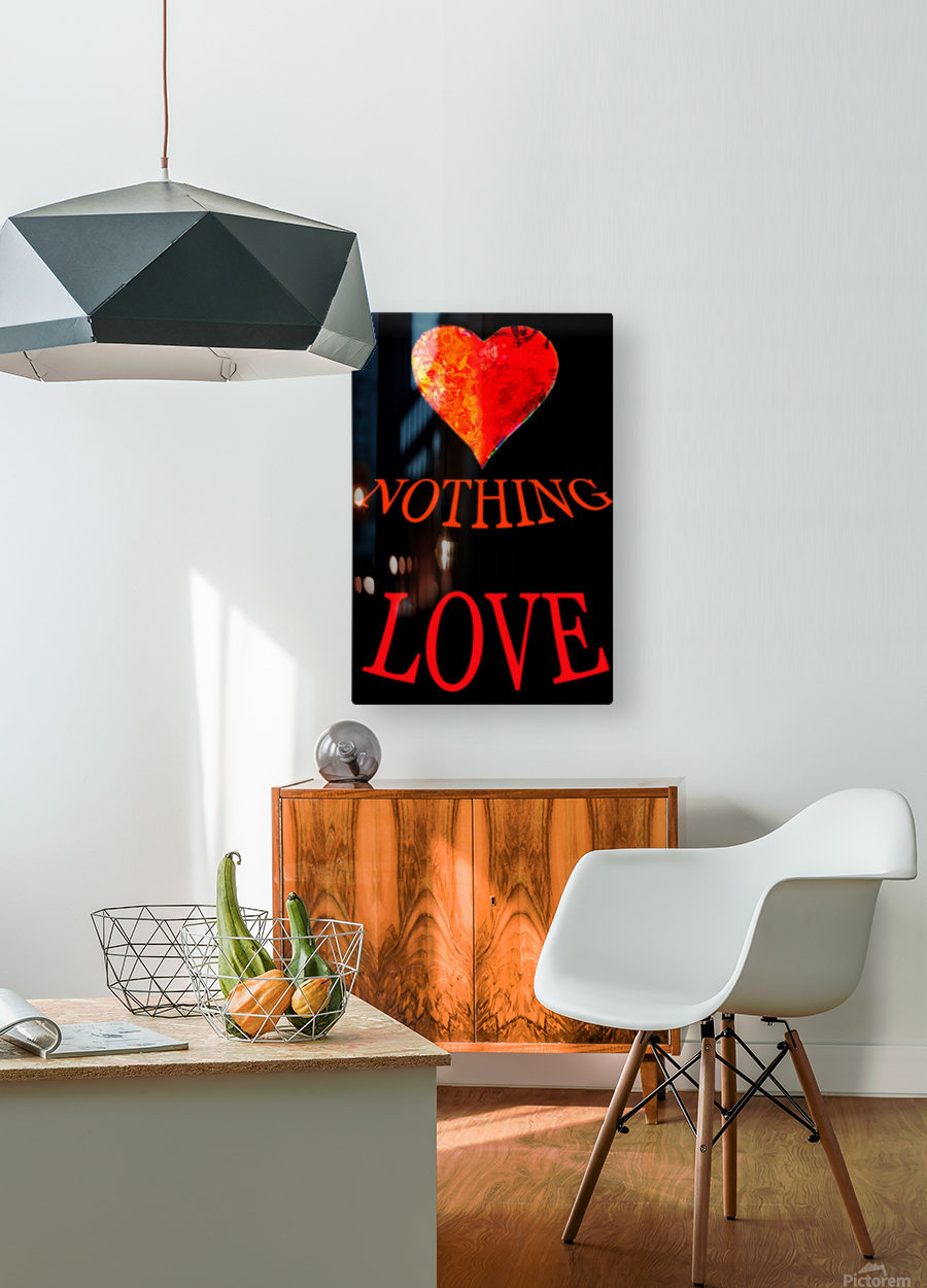 Art249  HD Metal print with Floating Frame on Back