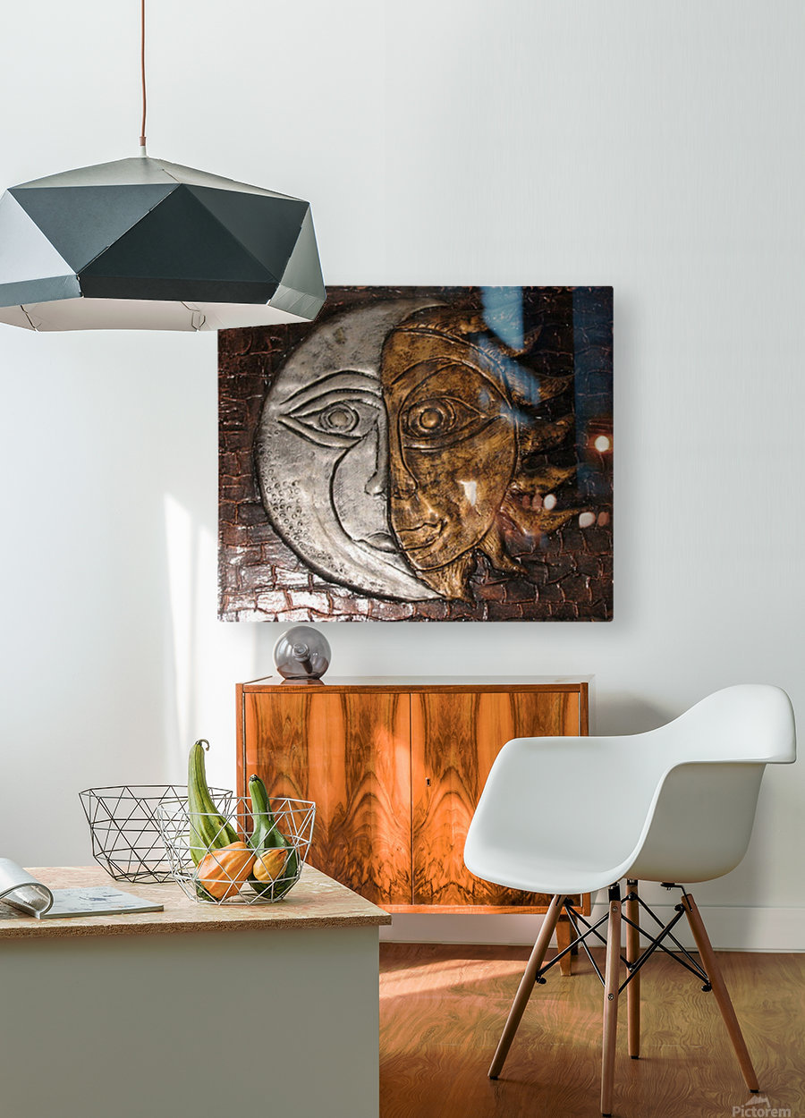 Fusion  HD Metal print with Floating Frame on Back