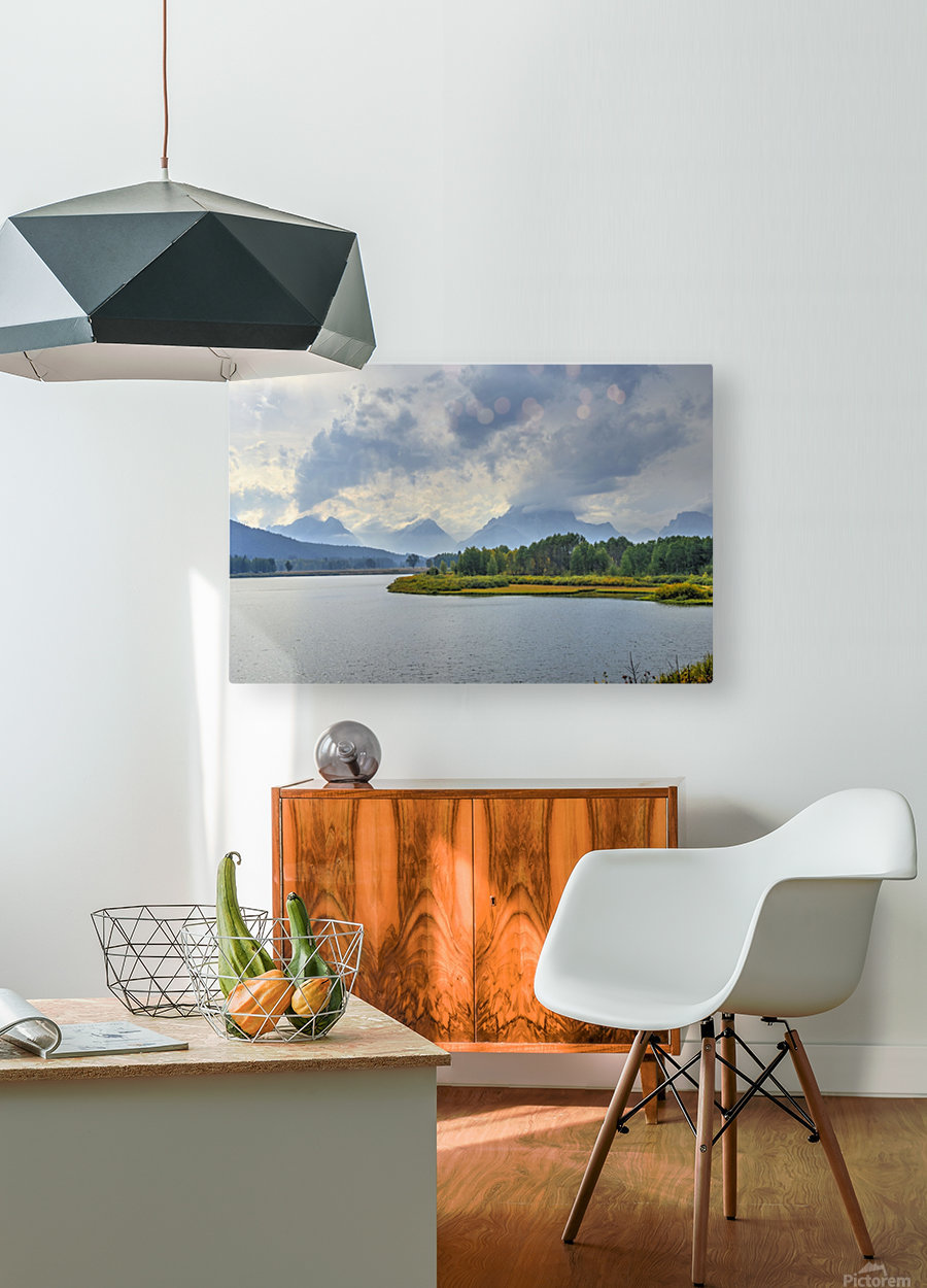 High Country Storm  HD Metal print with Floating Frame on Back