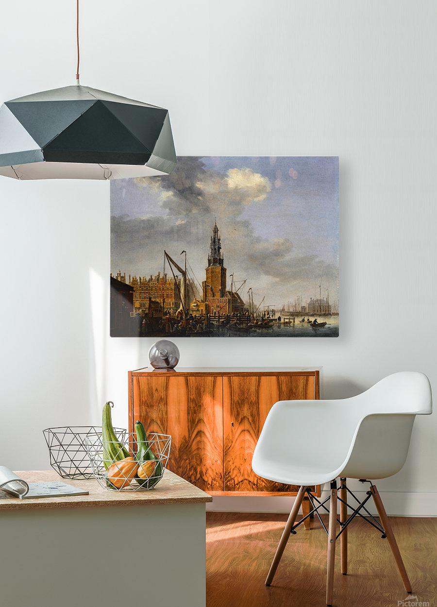 Haringpakkerstoren  HD Metal print with Floating Frame on Back