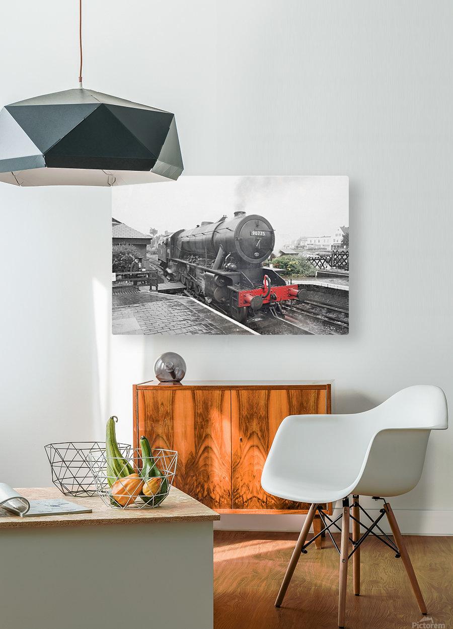 Old engine  HD Metal print with Floating Frame on Back