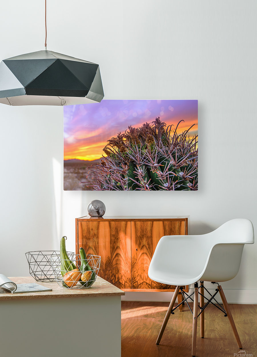 Barrel_of_Sun  HD Metal print with Floating Frame on Back