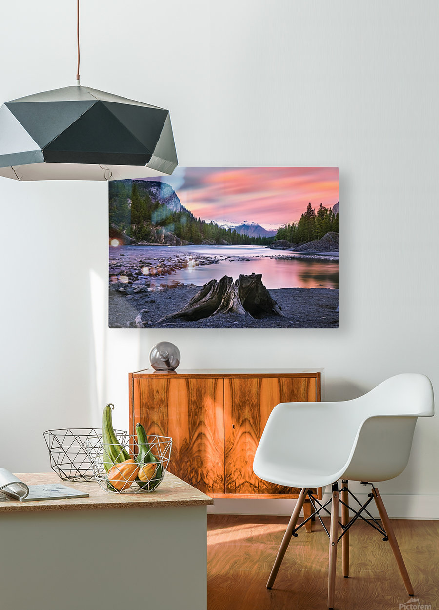 Daylight  HD Metal print with Floating Frame on Back