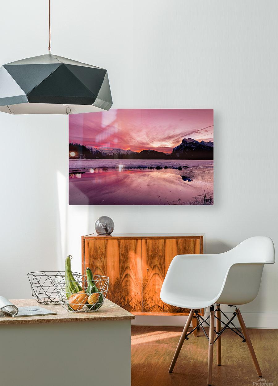 Spellbinding  HD Metal print with Floating Frame on Back