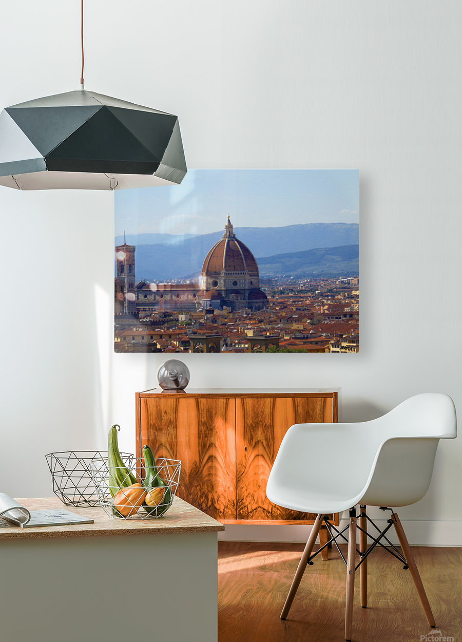 The Magic of Florence  HD Metal print with Floating Frame on Back