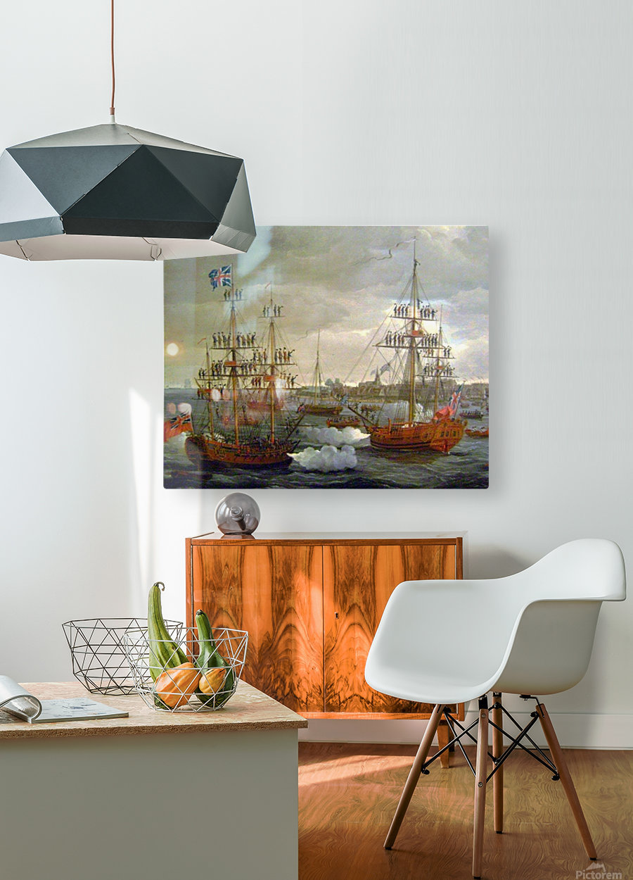 British Tars  HD Metal print with Floating Frame on Back