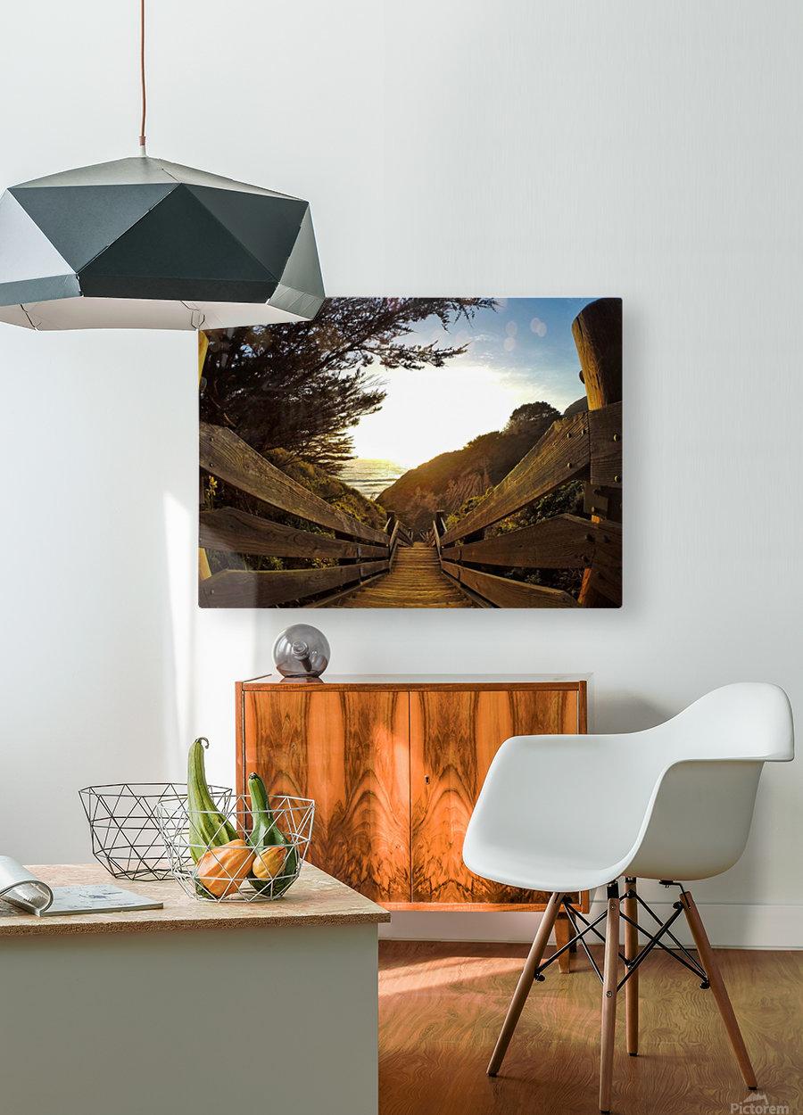 Montara  HD Metal print with Floating Frame on Back