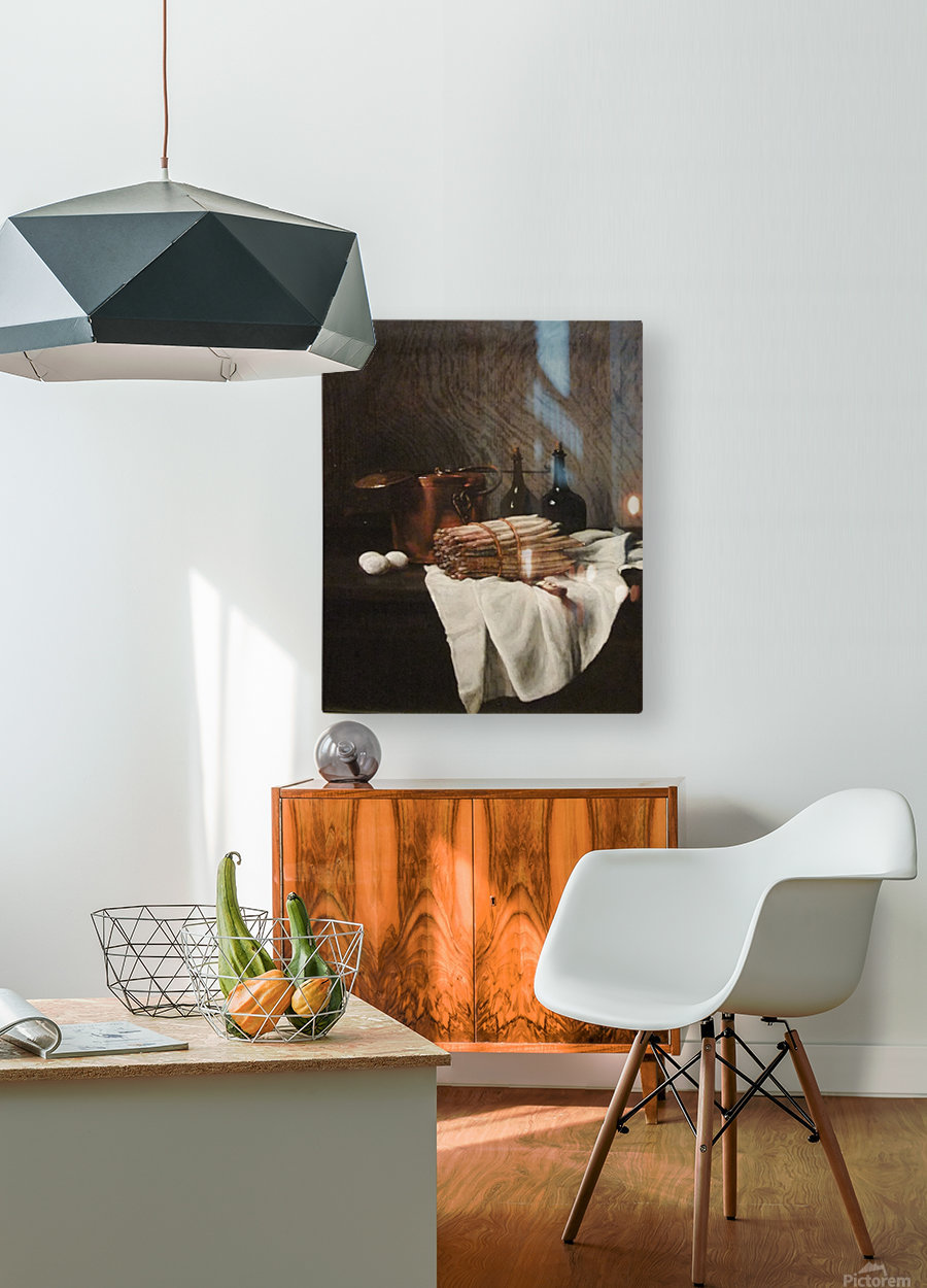 Still life on withe cloth  HD Metal print with Floating Frame on Back