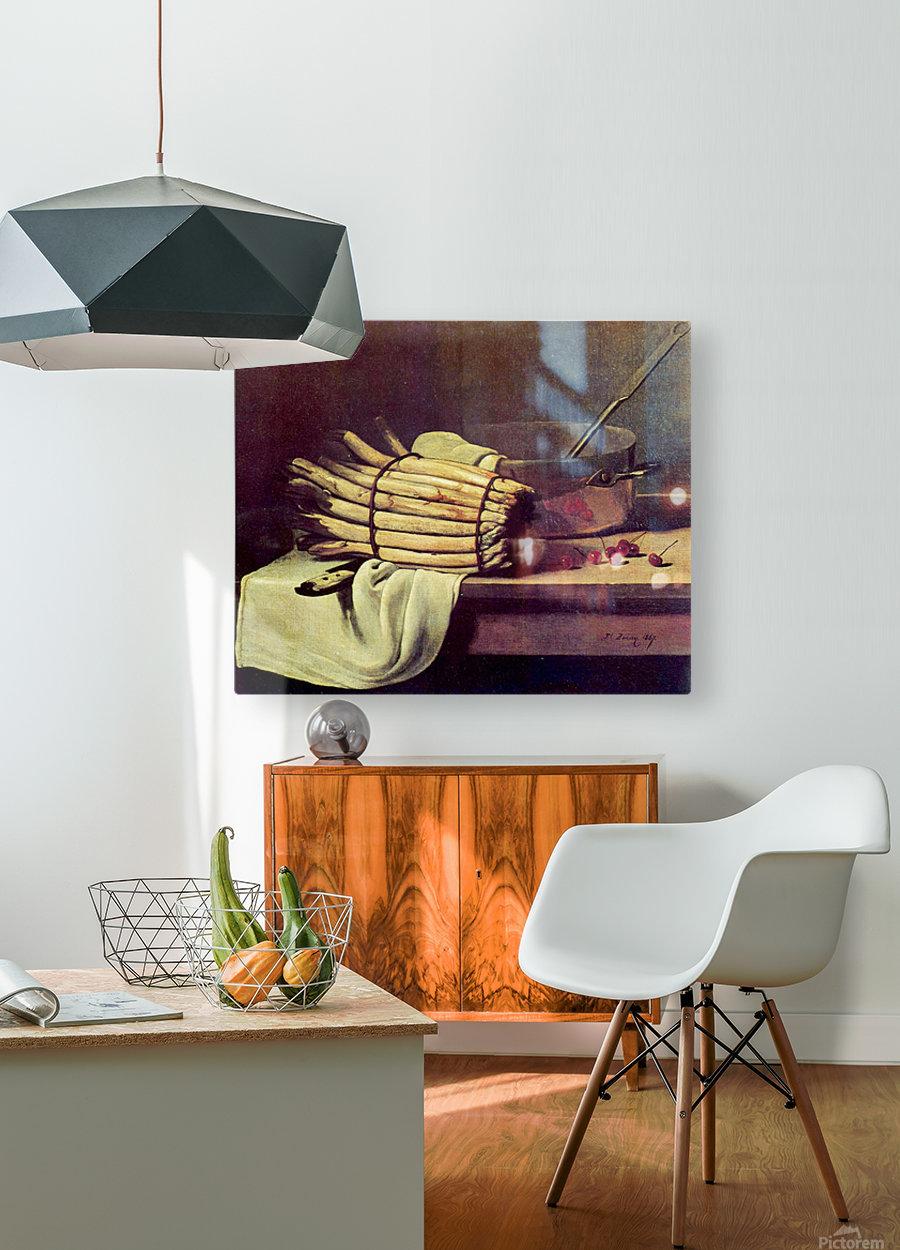 Asparagus Zeit  HD Metal print with Floating Frame on Back
