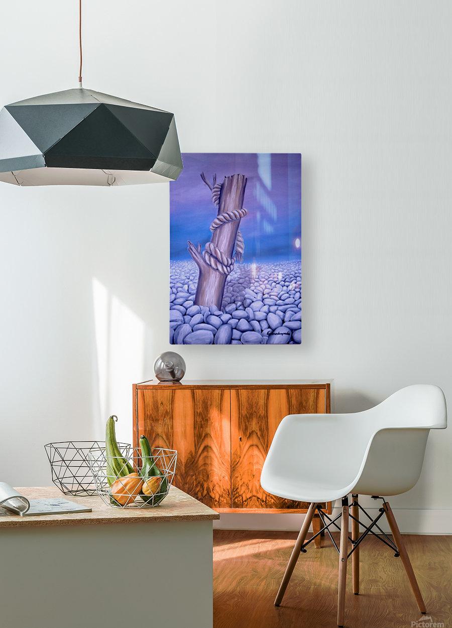 Endless Stillness  HD Metal print with Floating Frame on Back