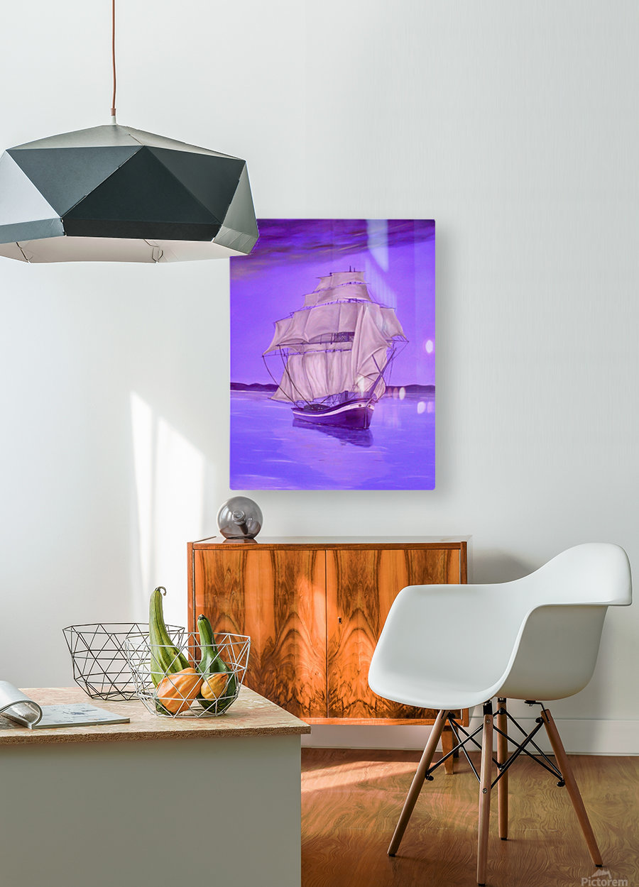 Fantasy Shade  HD Metal print with Floating Frame on Back