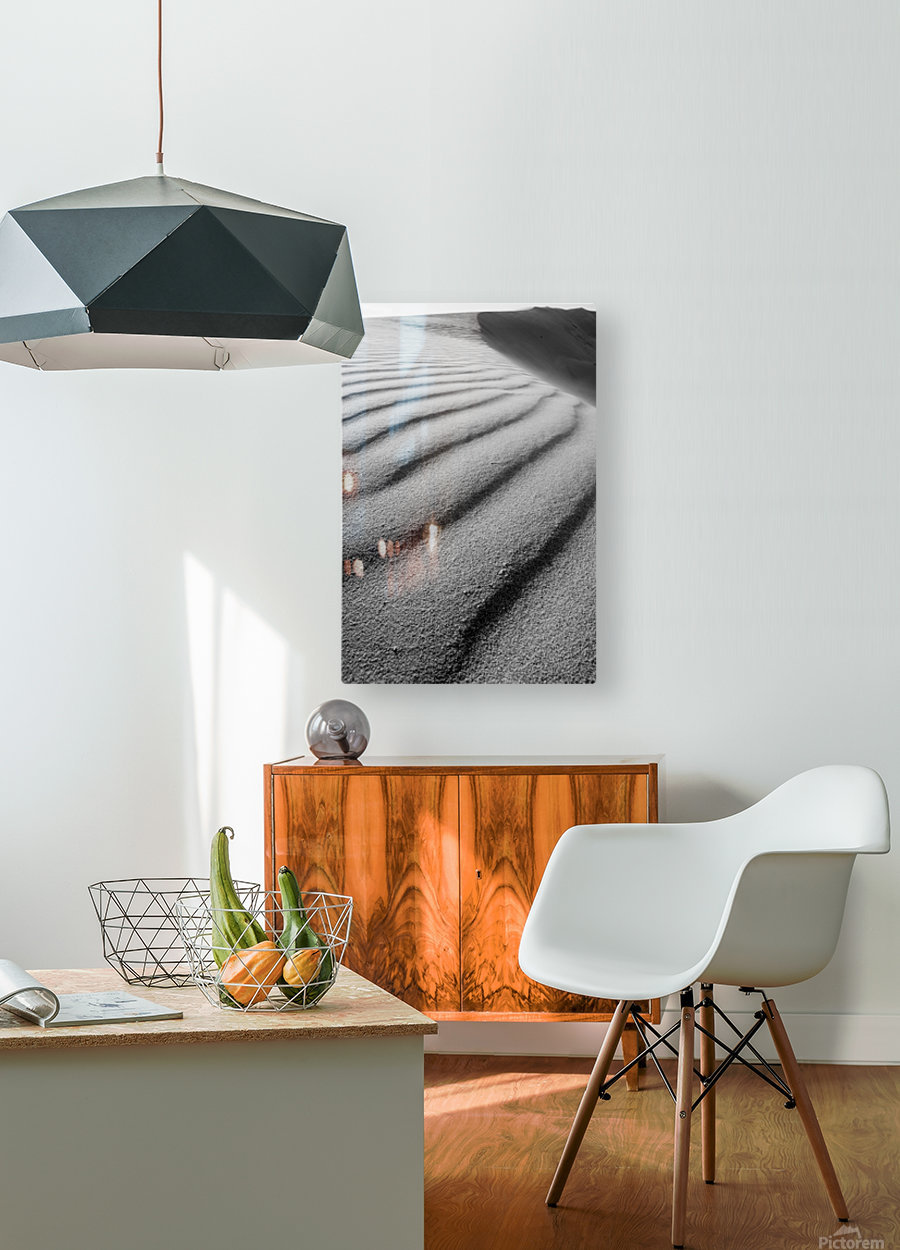 Dune  HD Metal print with Floating Frame on Back