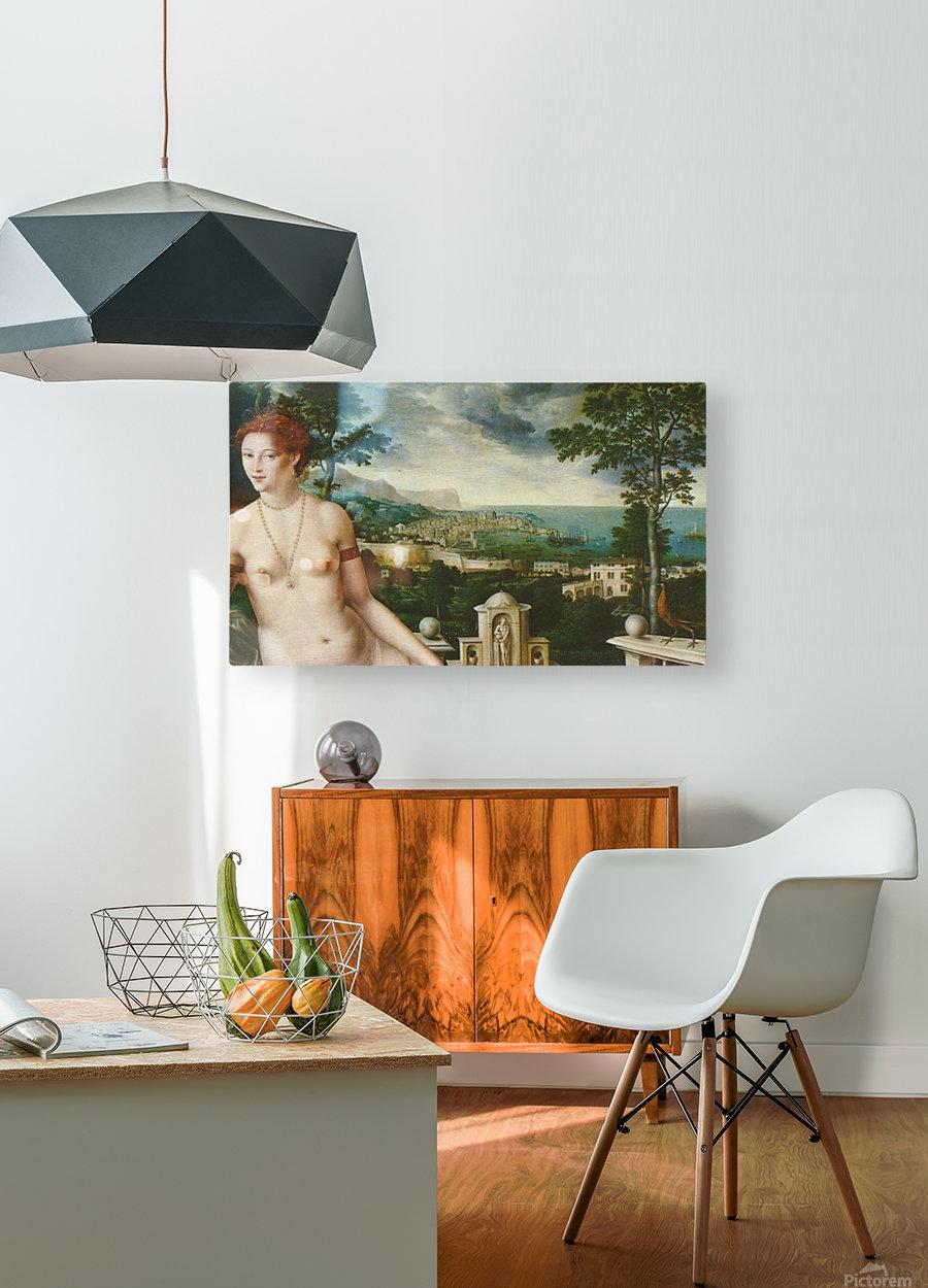 Venus Citerea  HD Metal print with Floating Frame on Back