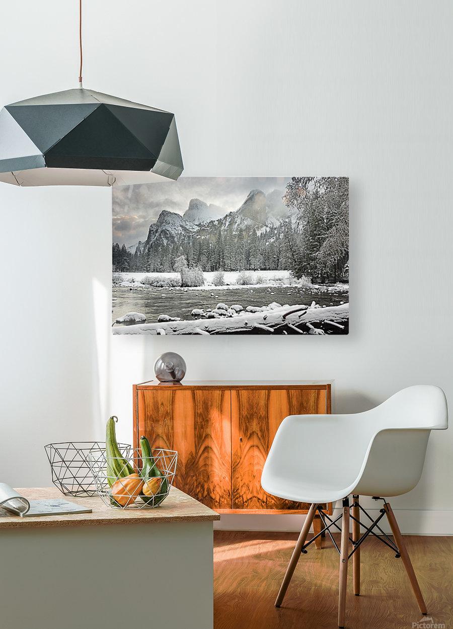 Yosemite National Park, California, Usa  HD Metal print with Floating Frame on Back