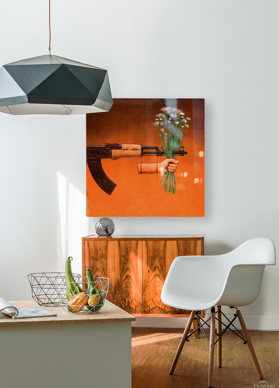 Armistice  HD Metal print with Floating Frame on Back