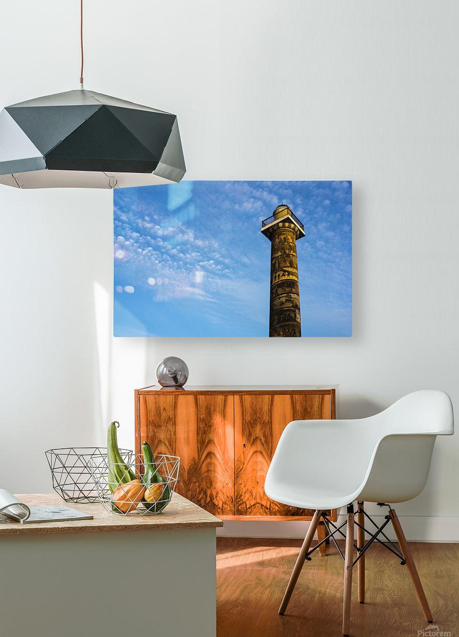 Astoria Column; Astoria, Oregon, United States of America  HD Metal print with Floating Frame on Back