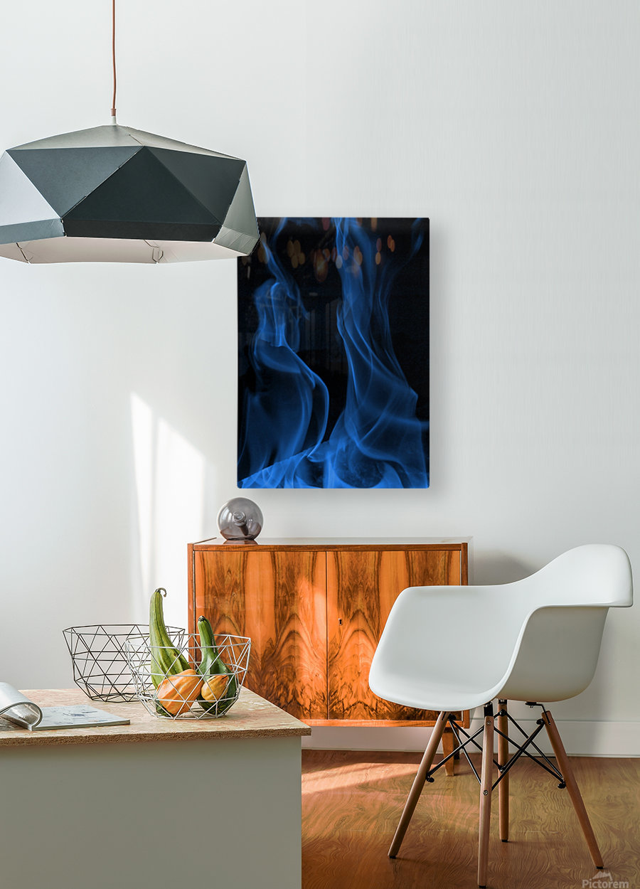 Embraced  HD Metal print with Floating Frame on Back