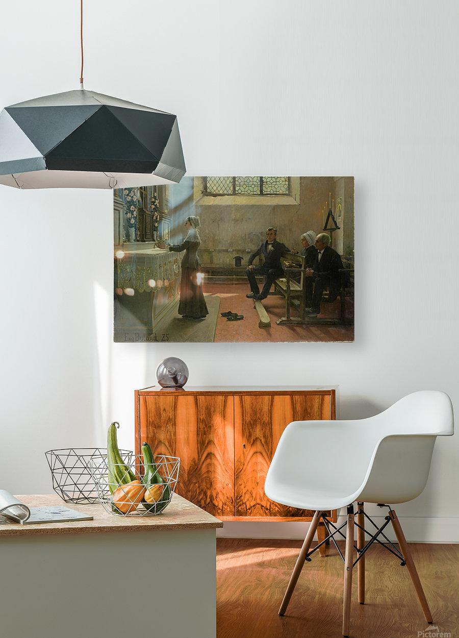 L'offrande  HD Metal print with Floating Frame on Back