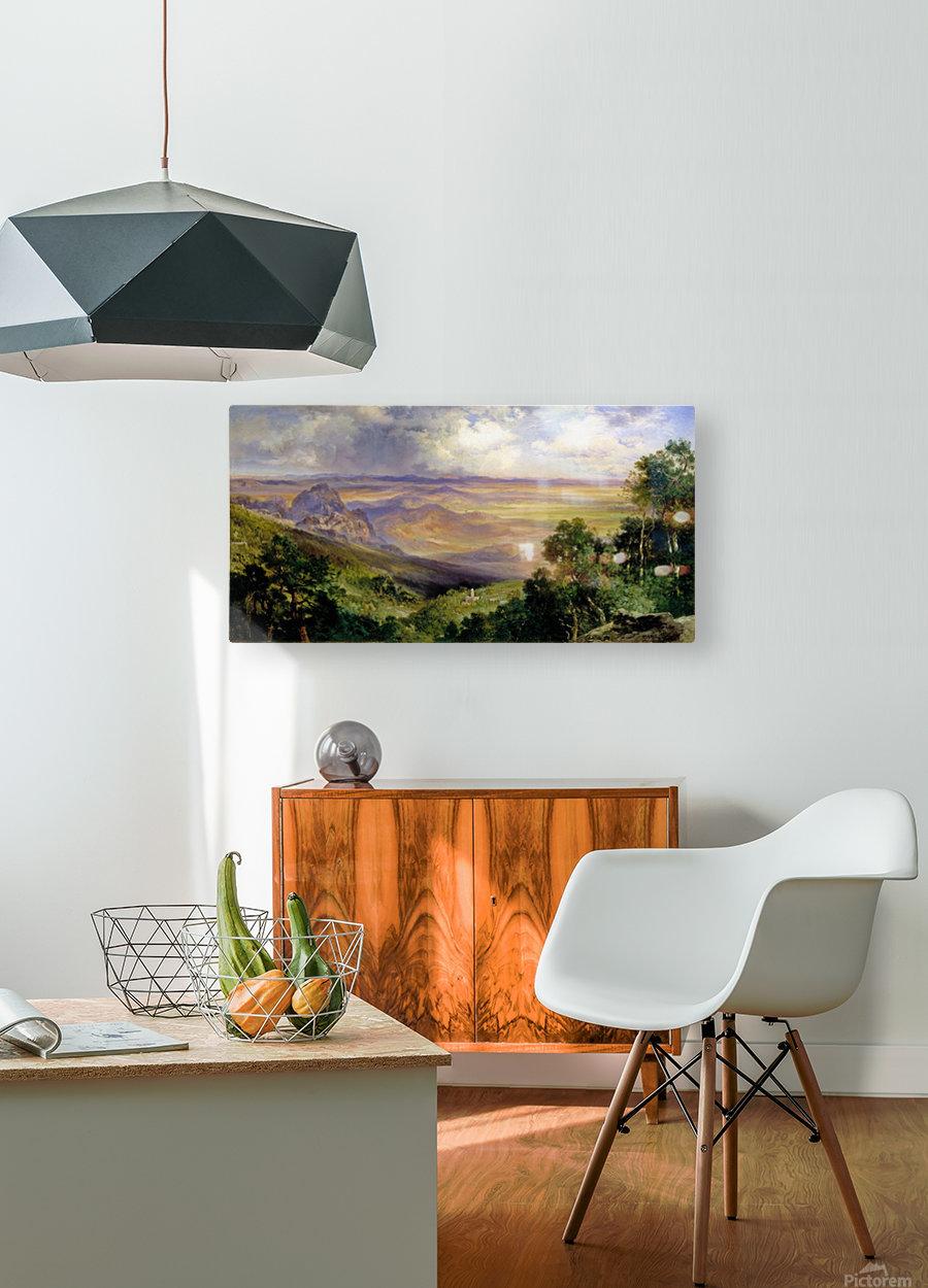 Valley of Cuernavaca  HD Metal print with Floating Frame on Back