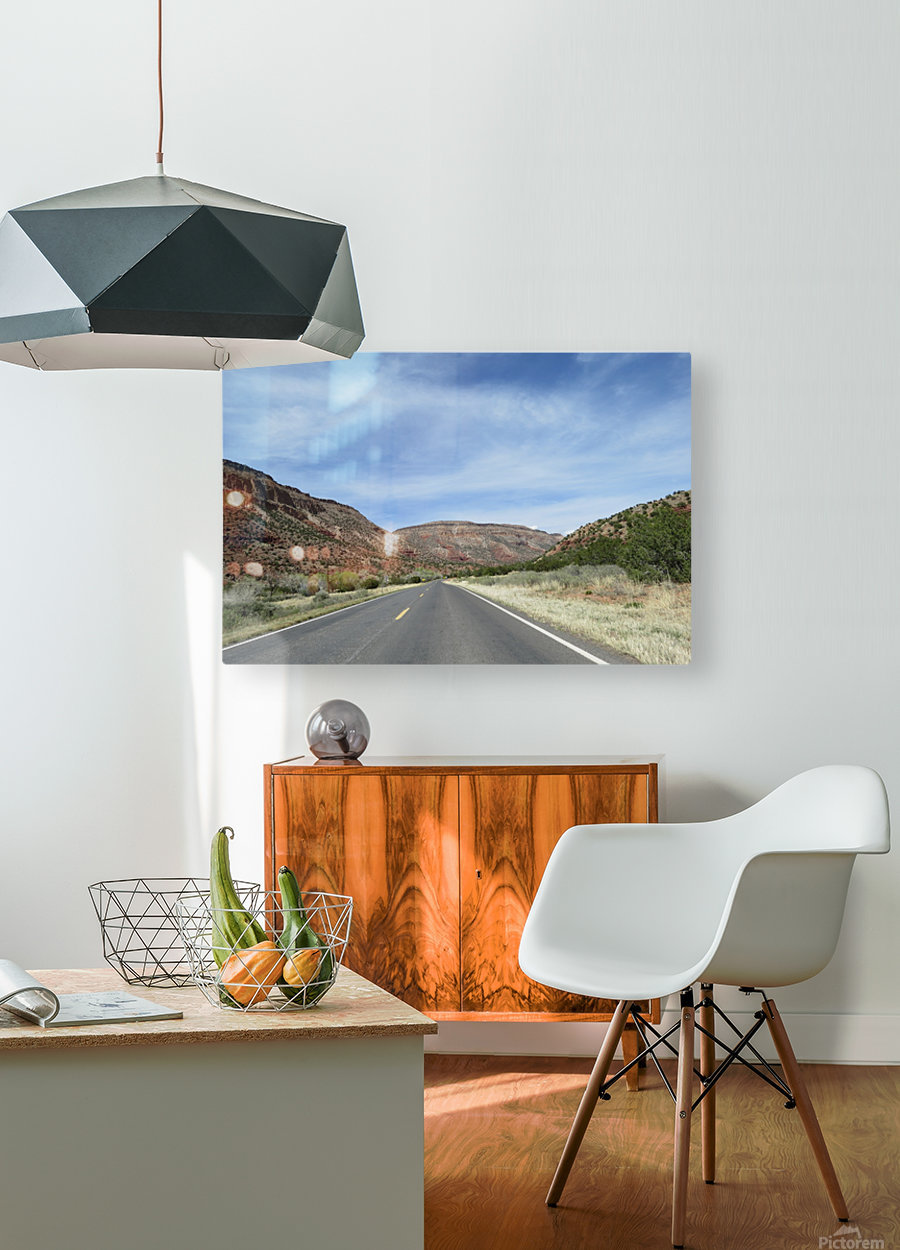 Jemez Mountains VP23  HD Metal print with Floating Frame on Back