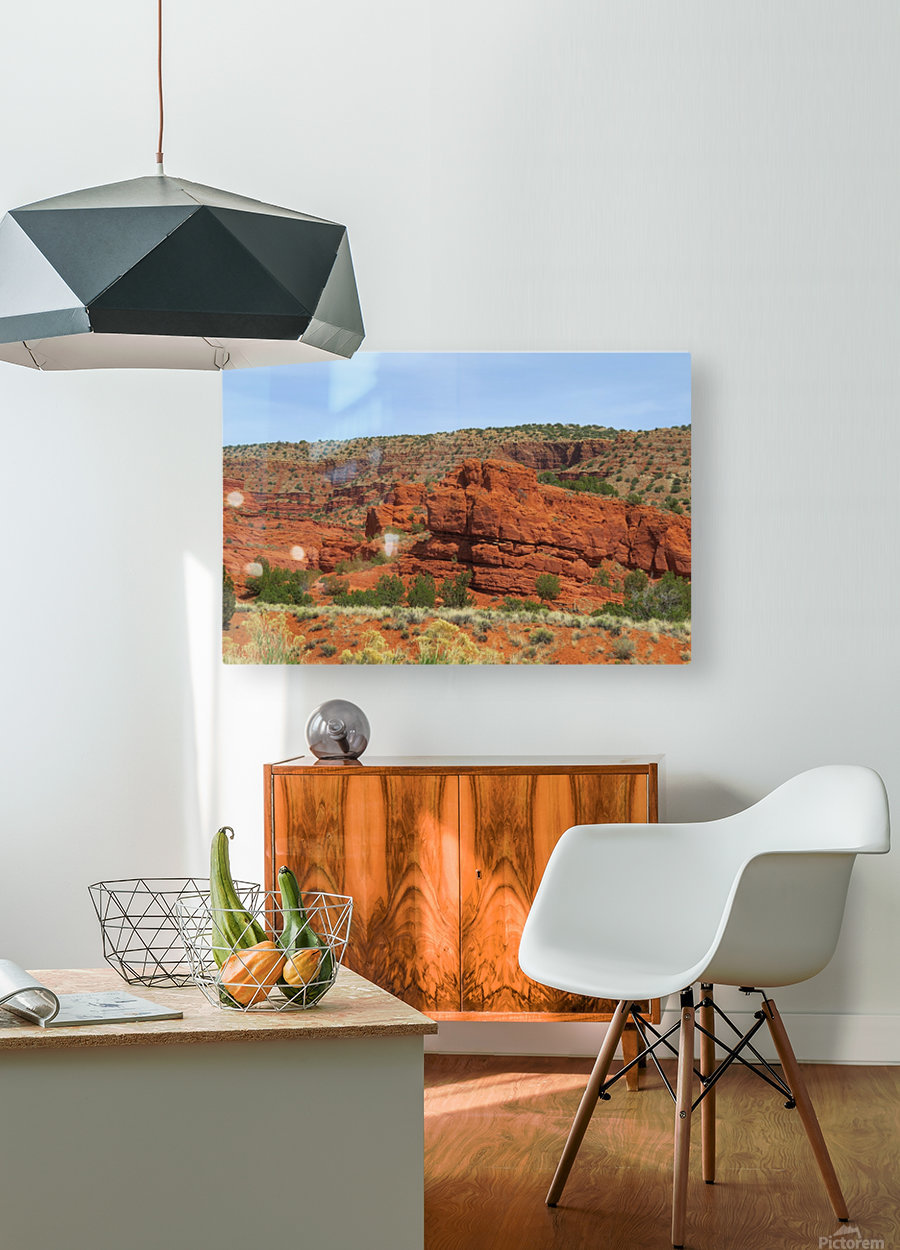 Jemez Mountains VP20  HD Metal print with Floating Frame on Back