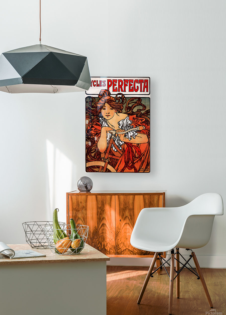 Cycles Perfecta, 1902  HD Metal print with Floating Frame on Back