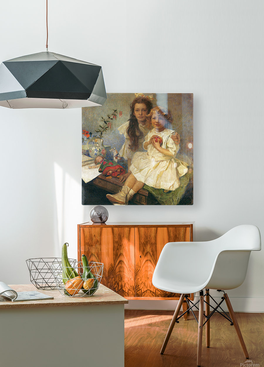 Jaroslava and Jiri  HD Metal print with Floating Frame on Back