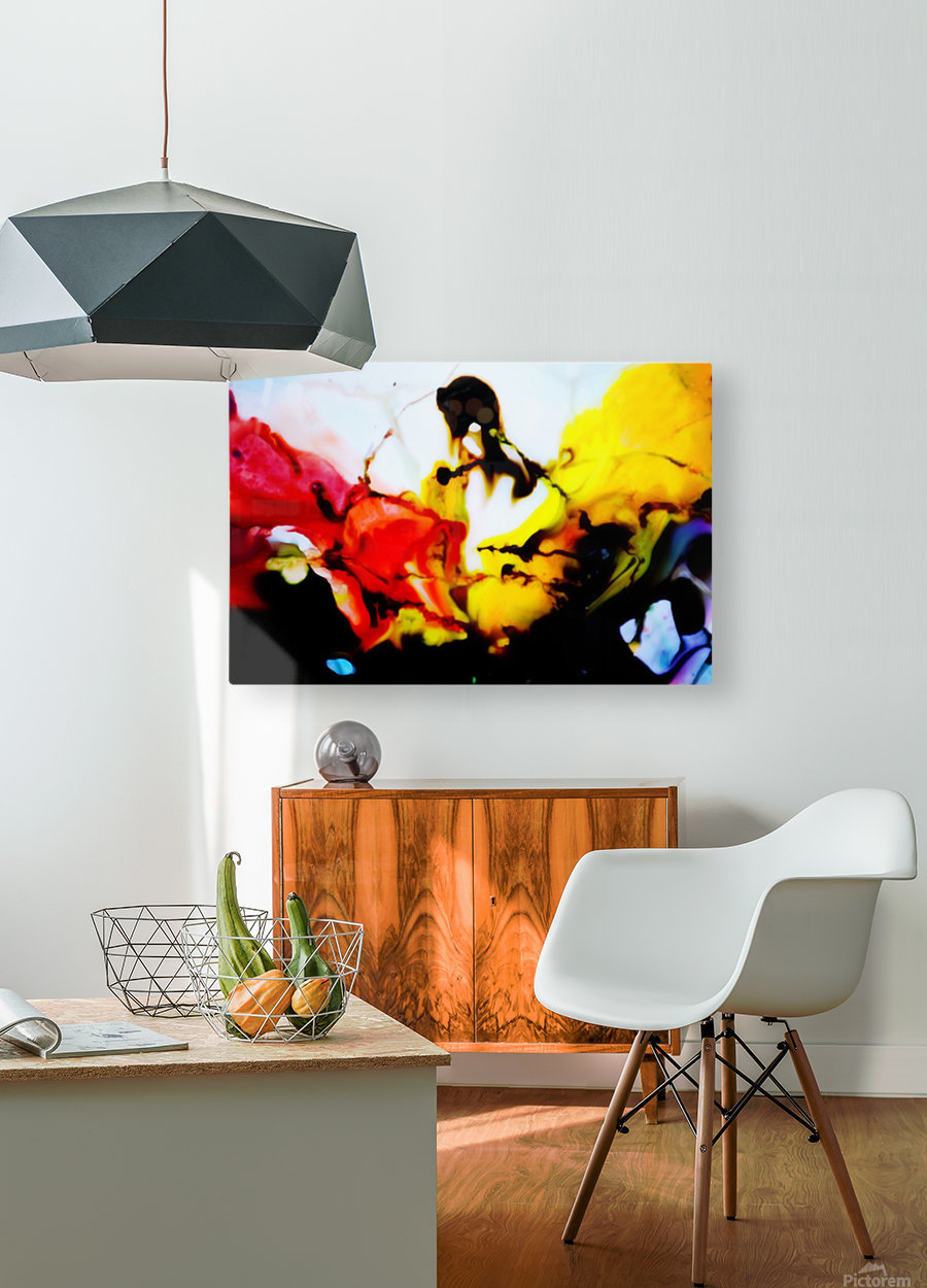 MPS-003  HD Metal print with Floating Frame on Back