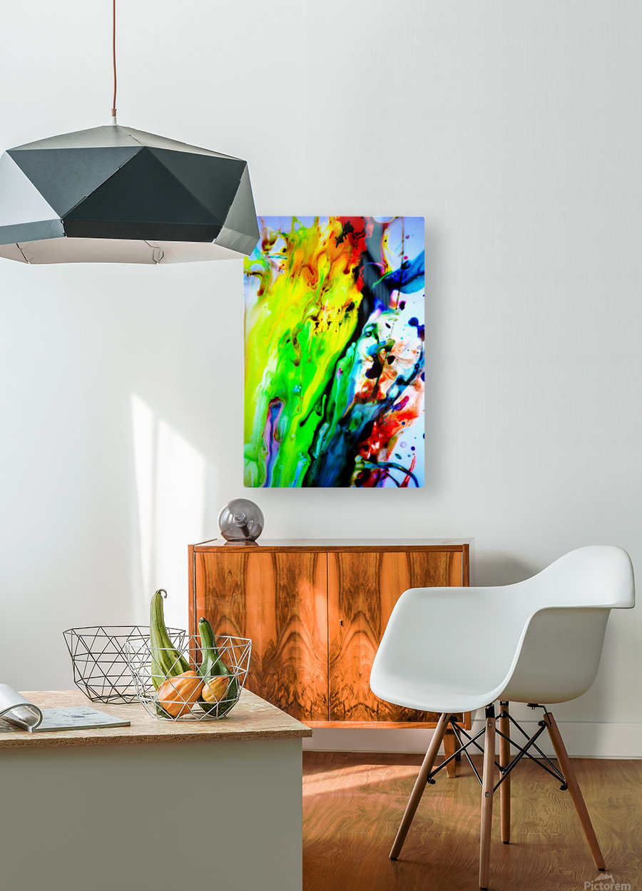 MPS-011  HD Metal print with Floating Frame on Back