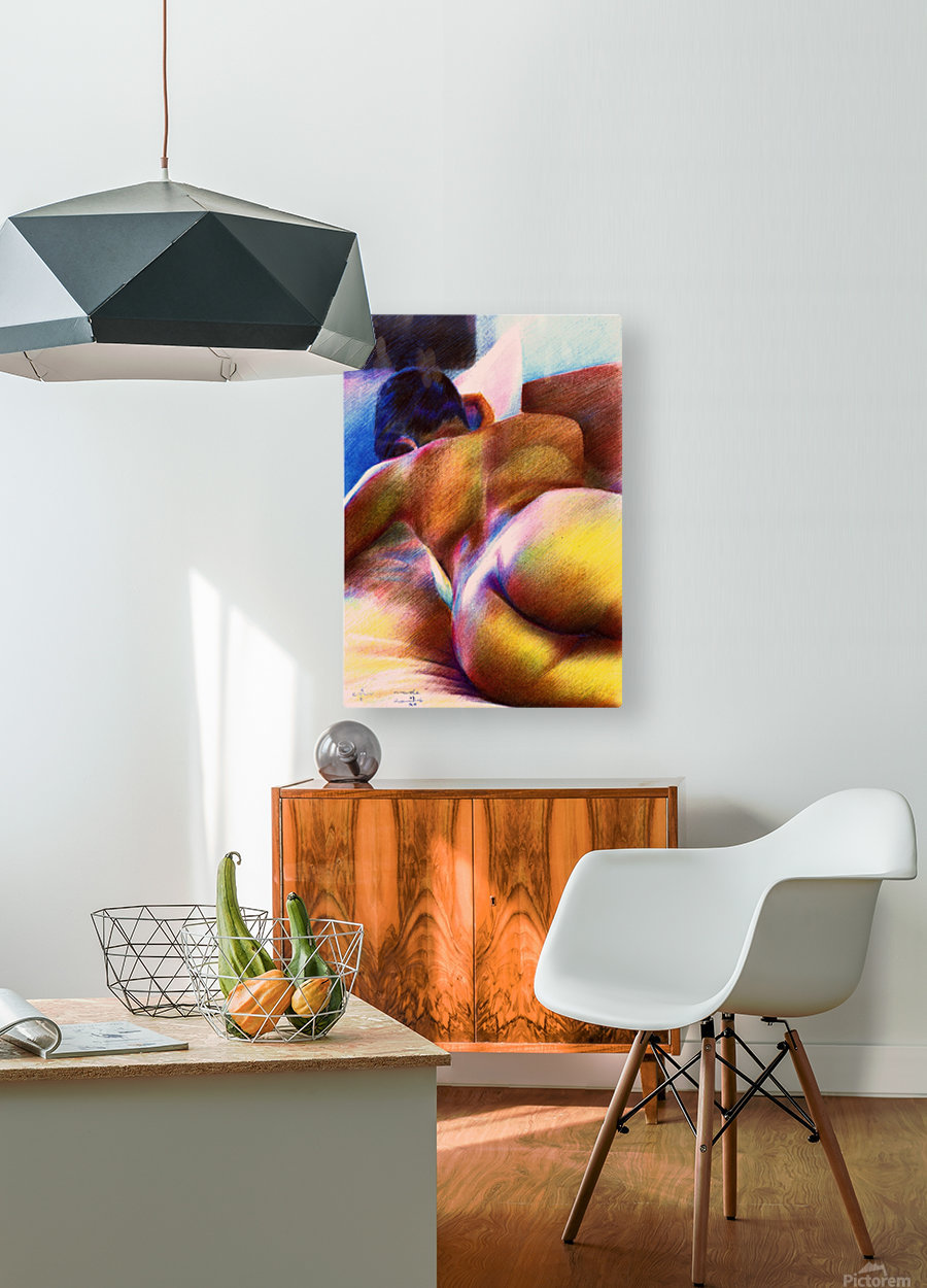 Nude - 07-12-16  HD Metal print with Floating Frame on Back