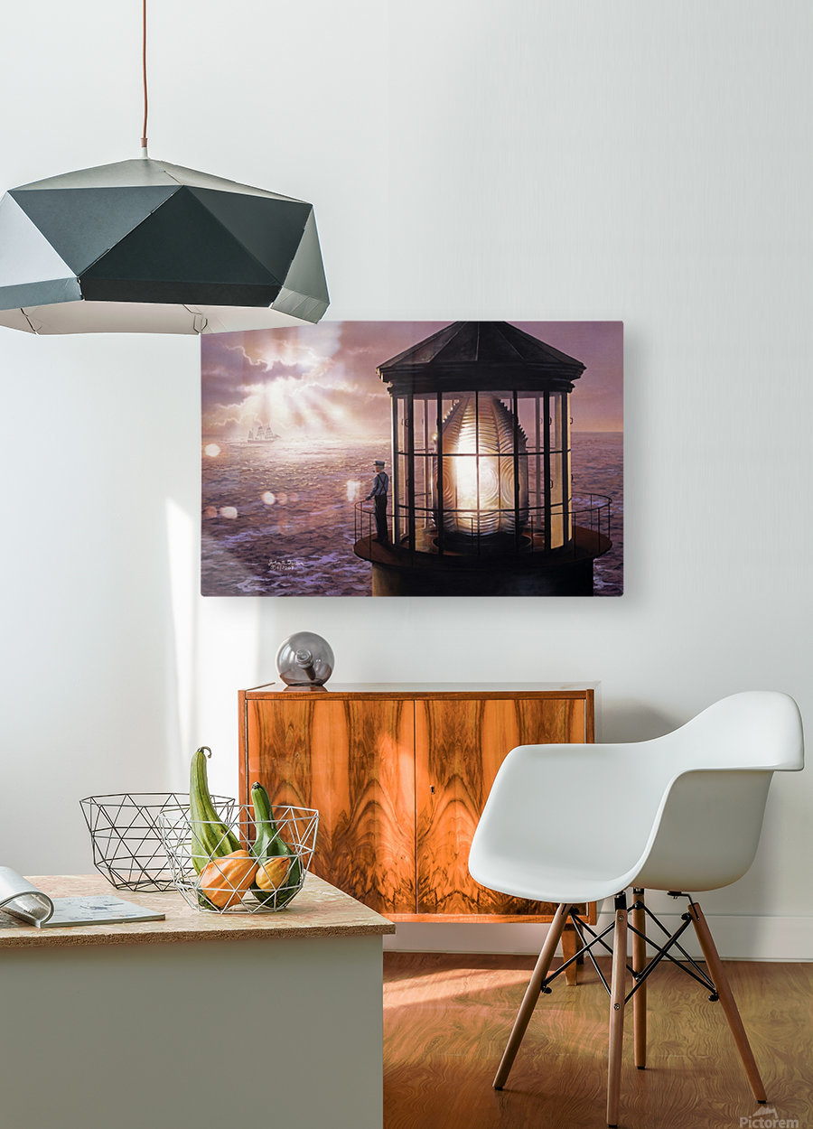 Another Safe Passage  HD Metal print with Floating Frame on Back