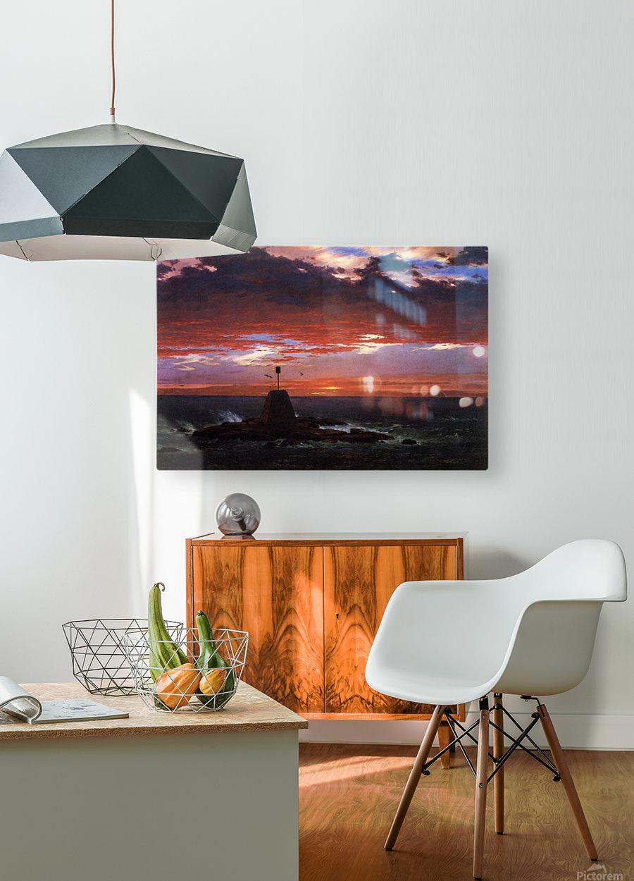 Mount Desert Island  HD Metal print with Floating Frame on Back