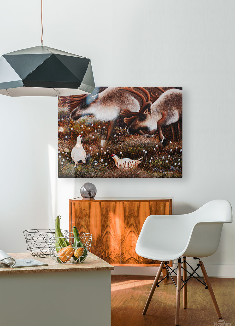 What Are You Looking At  HD Metal print with Floating Frame on Back
