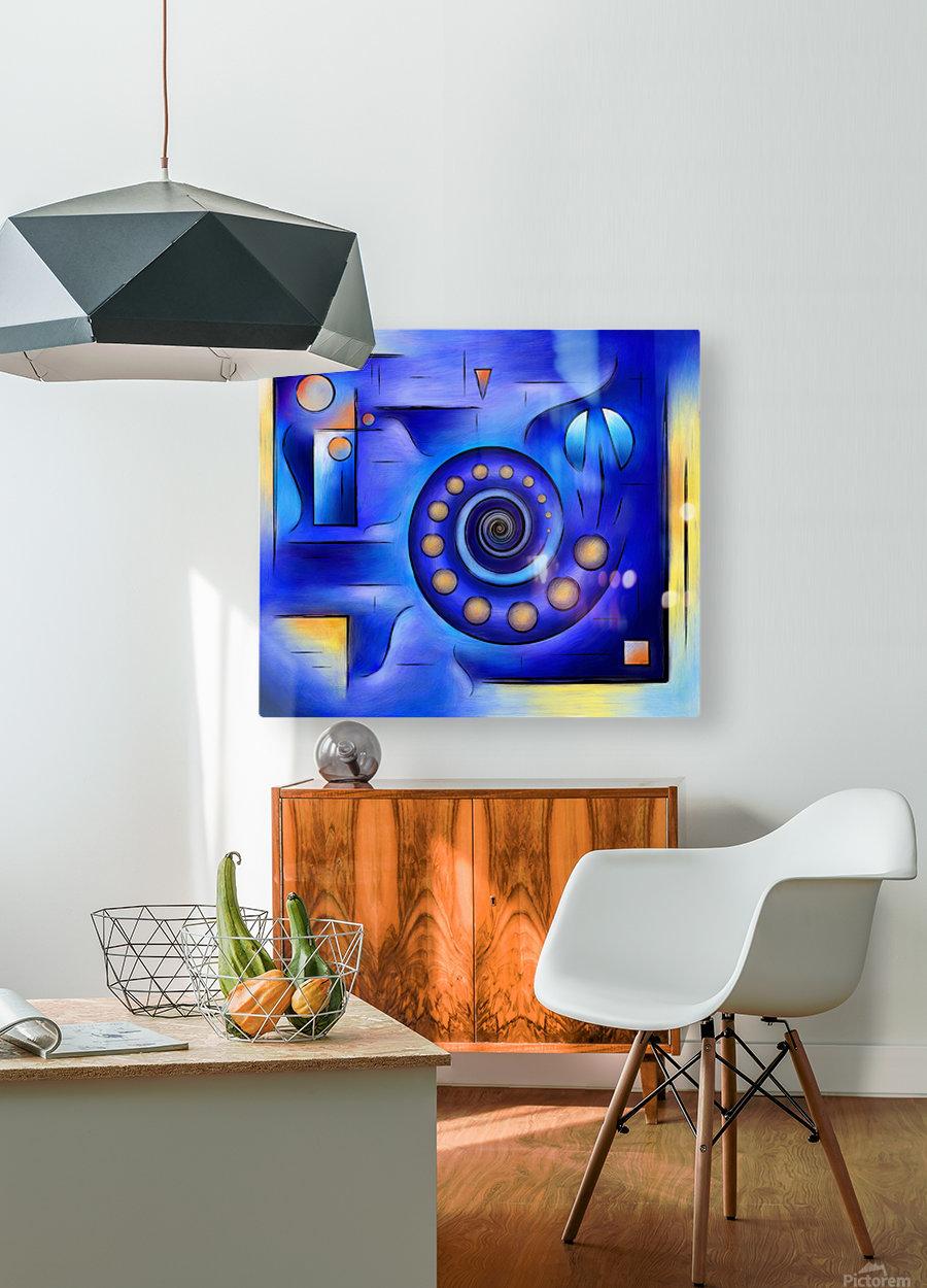 Grefenissa V1 - space art  HD Metal print with Floating Frame on Back