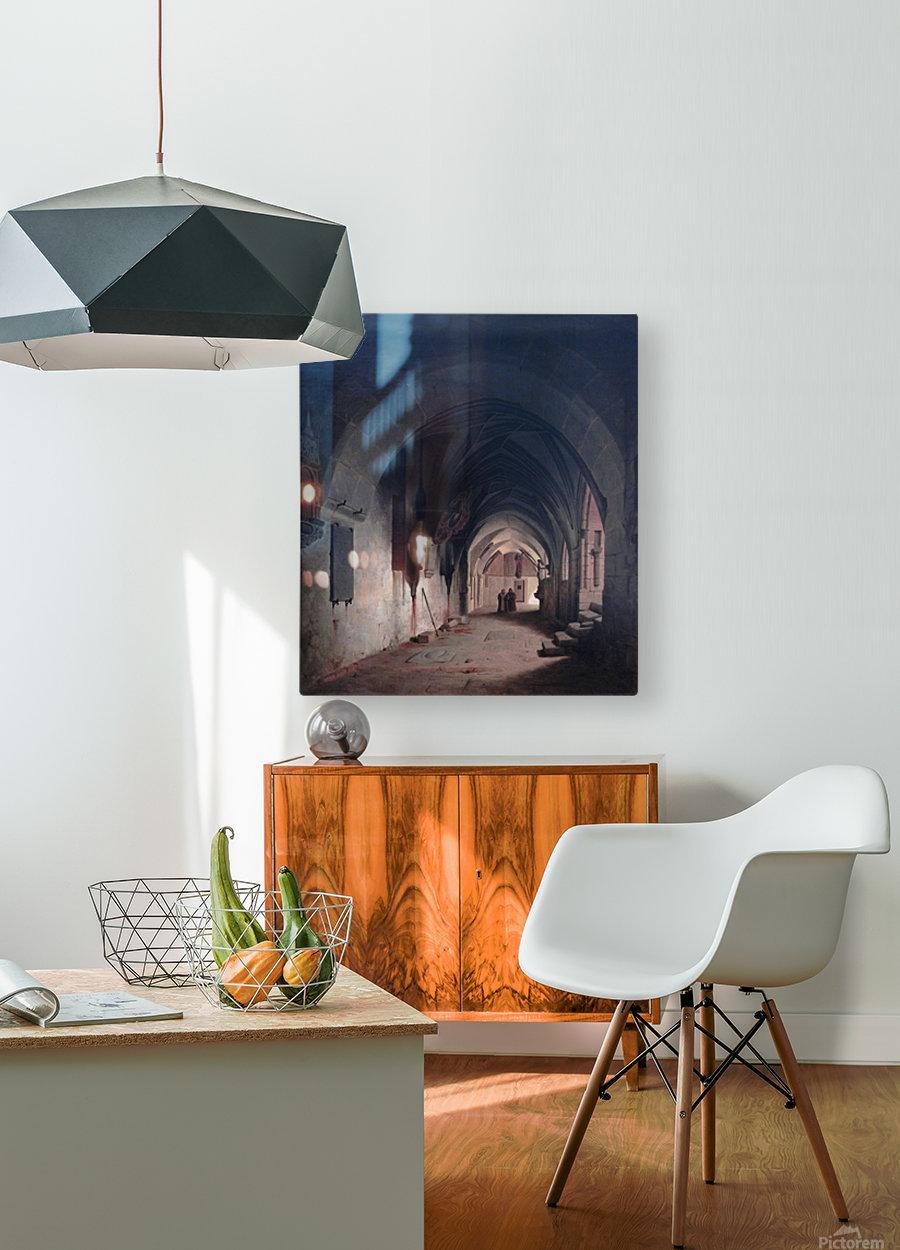 Halberstadt  HD Metal print with Floating Frame on Back