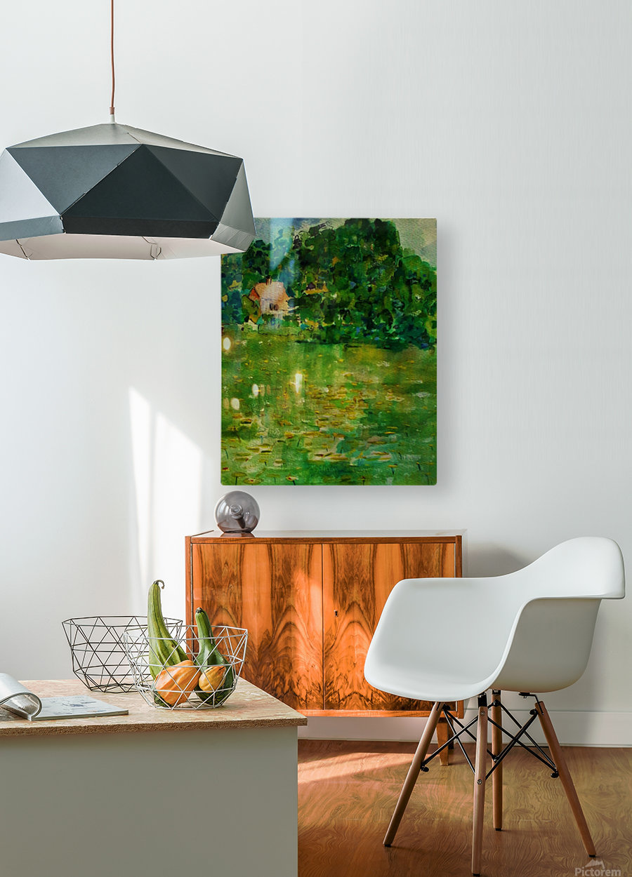 East Well Lake & Royalty  HD Metal print with Floating Frame on Back