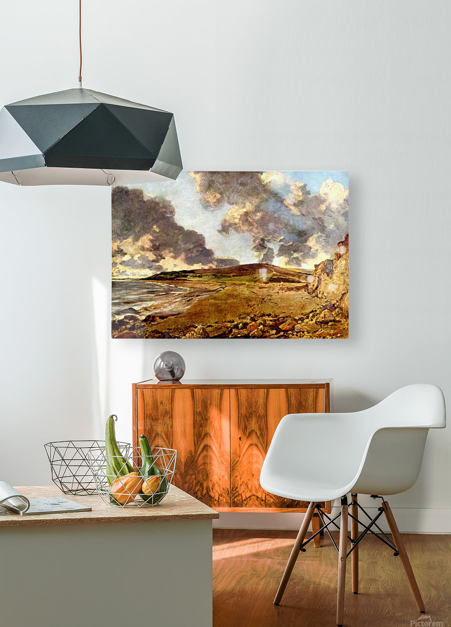 Weymouth Bay, 1816  HD Metal print with Floating Frame on Back