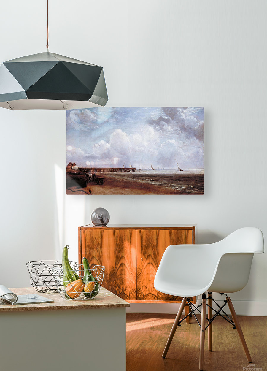 Yarmouth Jetty  HD Metal print with Floating Frame on Back